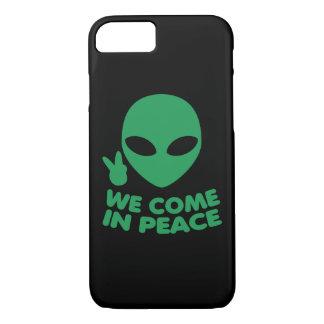 Wij komen in de Vreemdeling van de Vrede iPhone 8/7 Hoesje