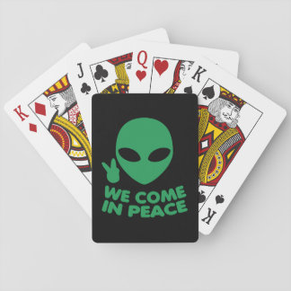 Wij komen in de Vreemdeling van de Vrede Pokerkaarten