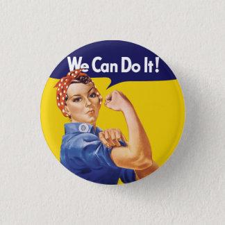 Wij kunnen het doen! Rosie de Klinkhamer Ronde Button 3,2 Cm