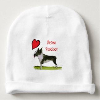 wij luv Boston terriers van tony fernandes Baby Mutsje