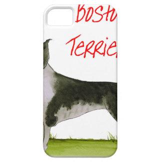 wij luv Boston terriers van tony fernandes Barely There iPhone 5 Hoesje
