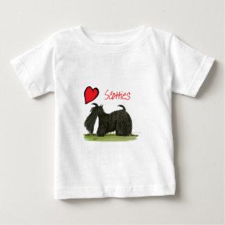 wij luv scotties van Tony Fernandes Baby T Shirts