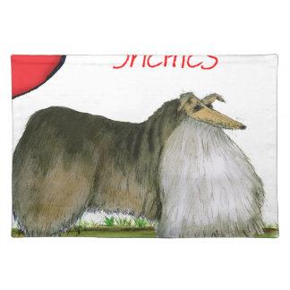 wij luv Shetland herdershonden van Tony Fernandes Placemat