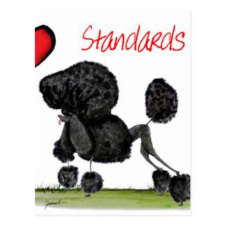 wij luv standaardpoedels van Tony Fernandes Briefkaart