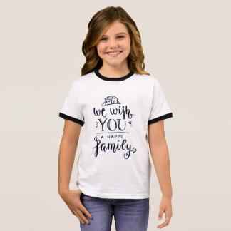 Wij met u een Gelukkige Familie T Shirts
