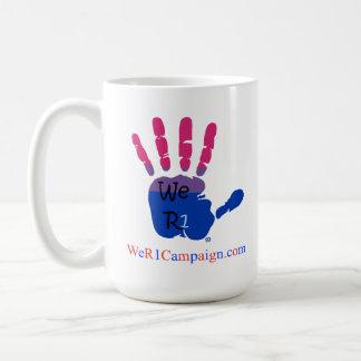 Wij R1 Liefde winnen (Biseksuele Hand) Mok