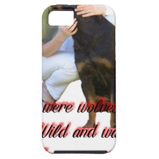 Wij waren eens wolven tough iPhone 5 hoesje