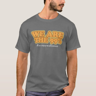 Wij zijn 99% - bezet Wall Street T Shirt