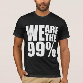 Wij zijn de 99% Donkere Amerikaanse T-shirt van de