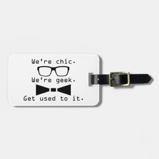 Wij zijn Geek Kofferlabels