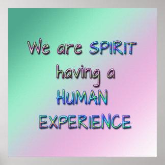 Wij zijn Geest Poster