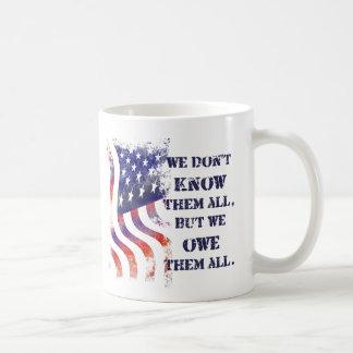 Wij zijn hen de Mok van de Dag van Veteranen