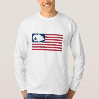 WIJ ZIJN NOG HIER! De Natie van Navajo op T Shirt