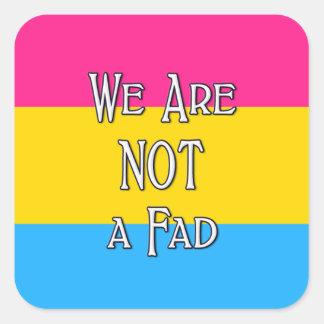 Wij zijn vierkante sticker