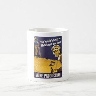 Wij zullen hen - WW2 Propaganda neerhalen Koffiemok