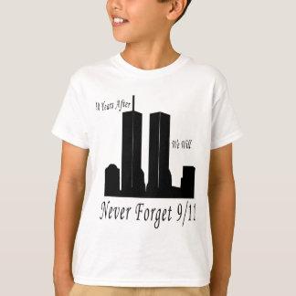 Wij zullen nooit 9/11 vergeten t shirt