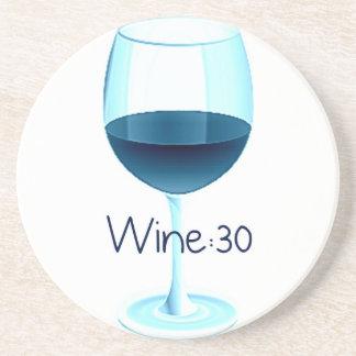 Wijn: 30 het Onderzetter van de rode Wijn