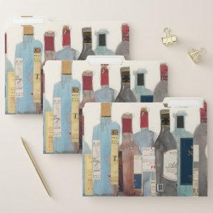 Wijn en gedistilleerde dranken documentenmap