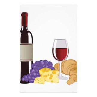 Wijn & Kaas Briefpapier