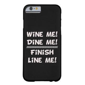 Wijn me! Dineer me! Eindig voeren me! Barely There iPhone 6 Hoesje