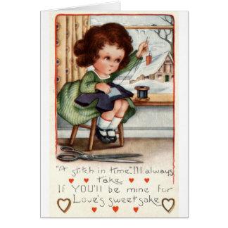 Wijnoogst 1922 van Valentijn Repro van het Belang Kaart