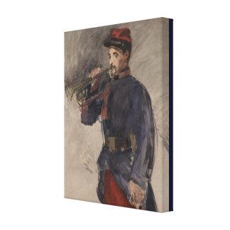 Wijnoogst de Bugelblazer door Edouard Manet Canvas Print