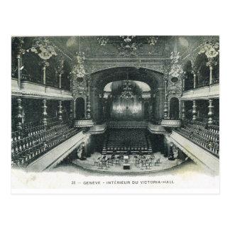 Wijnoogst, de Zaal van Zwitserland, Genève, Briefkaart