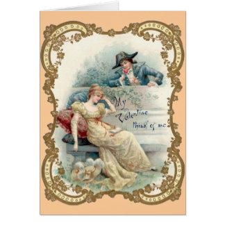 Wijnoogst die u missen de Kaart van Valentijn