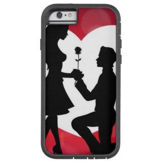 Wijnoogst: Valentijnsdag - Tough Xtreme iPhone 6 Hoesje