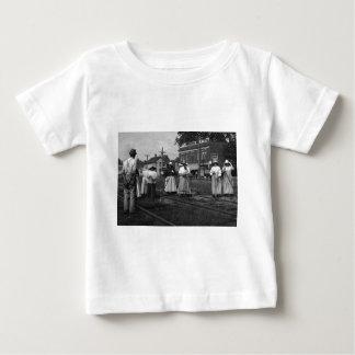 Wijnoogst van de Spoorweg van New York van de T-shirt