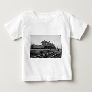 Wijnoogst van het Depot van de Spoorweg van New Tshirt