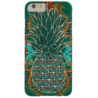 Wijnoogst van het iphonehoesje van de ananas de barely there iPhone 6 plus hoesje