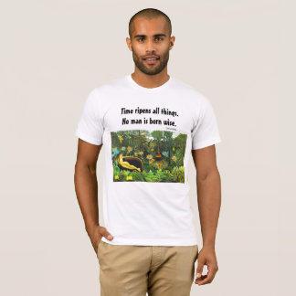 wijs spreuk en art. t shirt