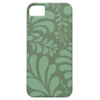 Wijze groene gebladerte modieuze iphone 5 casemate barely there iPhone 5 hoesje
