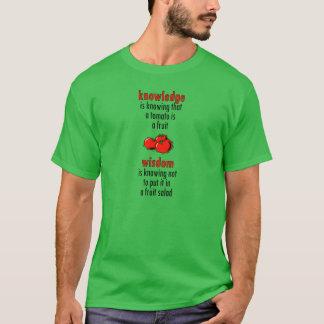 Wijze Tomaat T Shirt