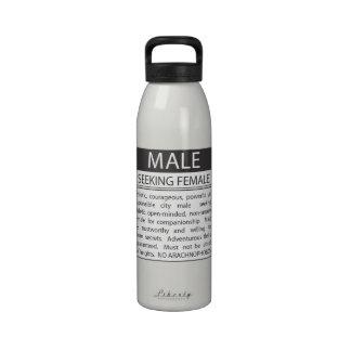 Wil de Persoonlijke Fles van het Water van de Adve Sport Bottle
