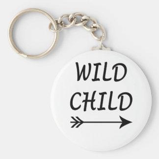 Wild aanwezig Kind Sleutelhanger