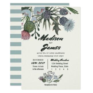 Wild Boeket | van Bloemen de blauwe Uitnodigingen