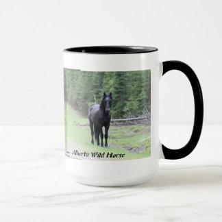 """Wild paard 2 van Alberta van de """"zwarte Mok"""