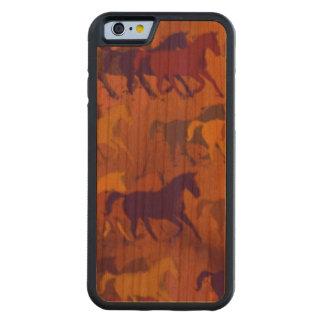 wild paarden kersen iPhone 6 bumper hoesje