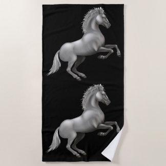 Wild paarden strandlaken