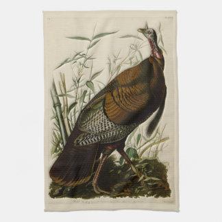 Wild Turkije door John Audubon Theedoek