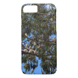Wilde Australische Witte Kaketoes, iPhone 8/7 Hoesje