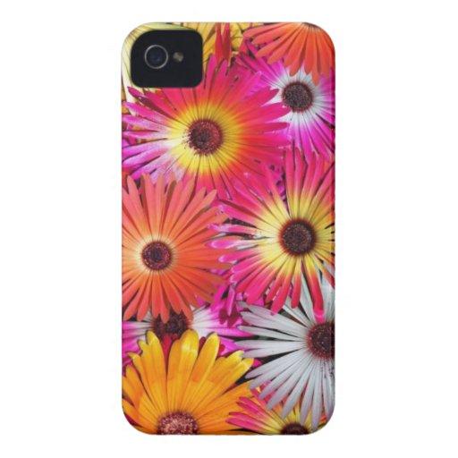 wilde bloemen Case-Mate iPhone 4 hoesjes