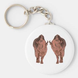 Wilde Buffels Sleutelhanger