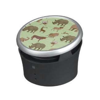 Wilde dieren bluetooth speaker