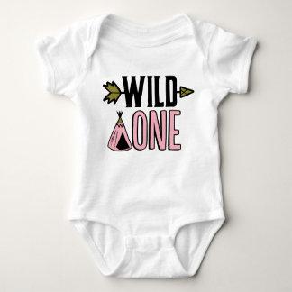 Wilde het Eerste Overhemd van de Verjaardag Romper