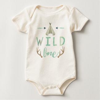 Wilde StammenBodysuit van de Jongen van het Baby Baby Shirt