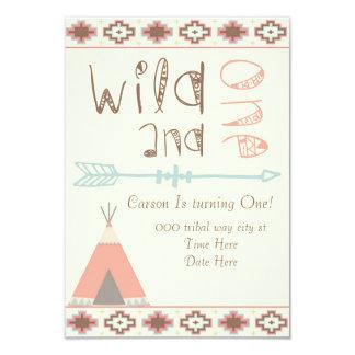 Wildernis en 8,9x12,7 uitnodiging kaart