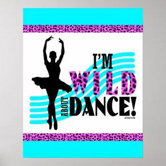 Wildernis over Dans Poster
